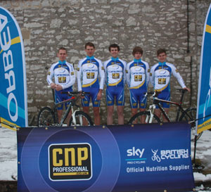 CNP Orbea Team Photo